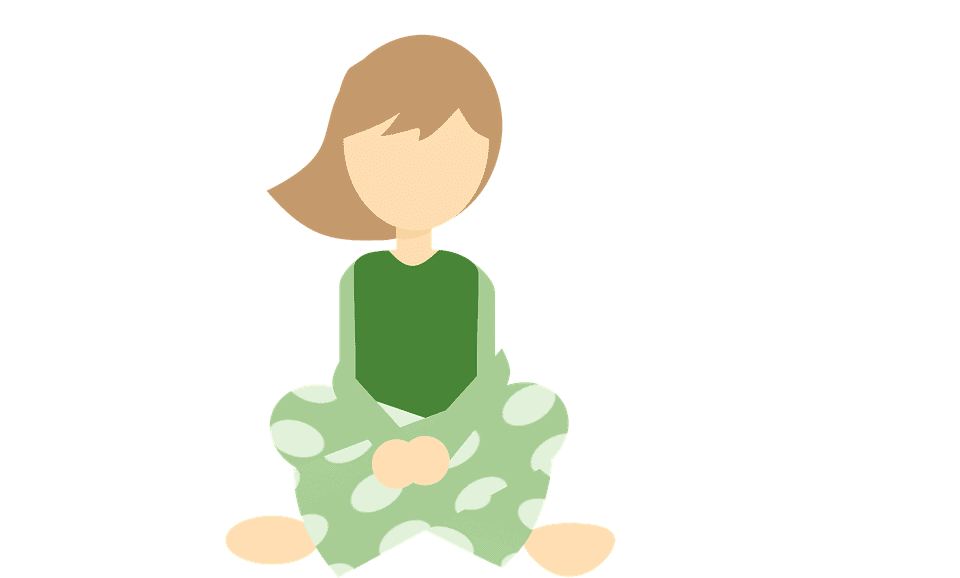 lady in pajama clip art