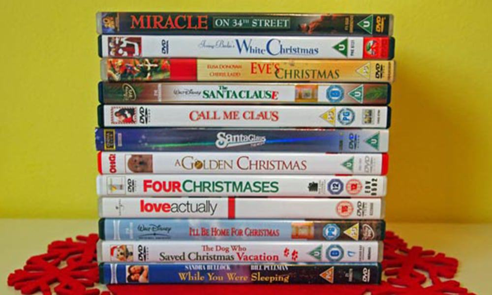 christmas movie marathon