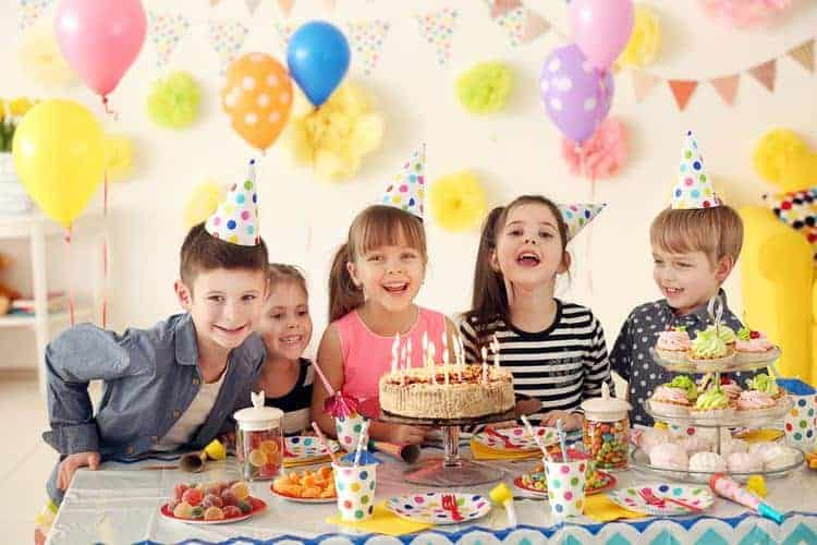 Budget for kids planned birthday