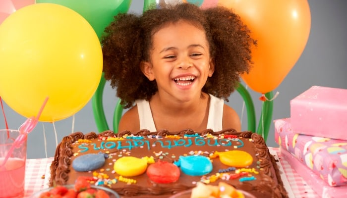 Season for kids planned birthday