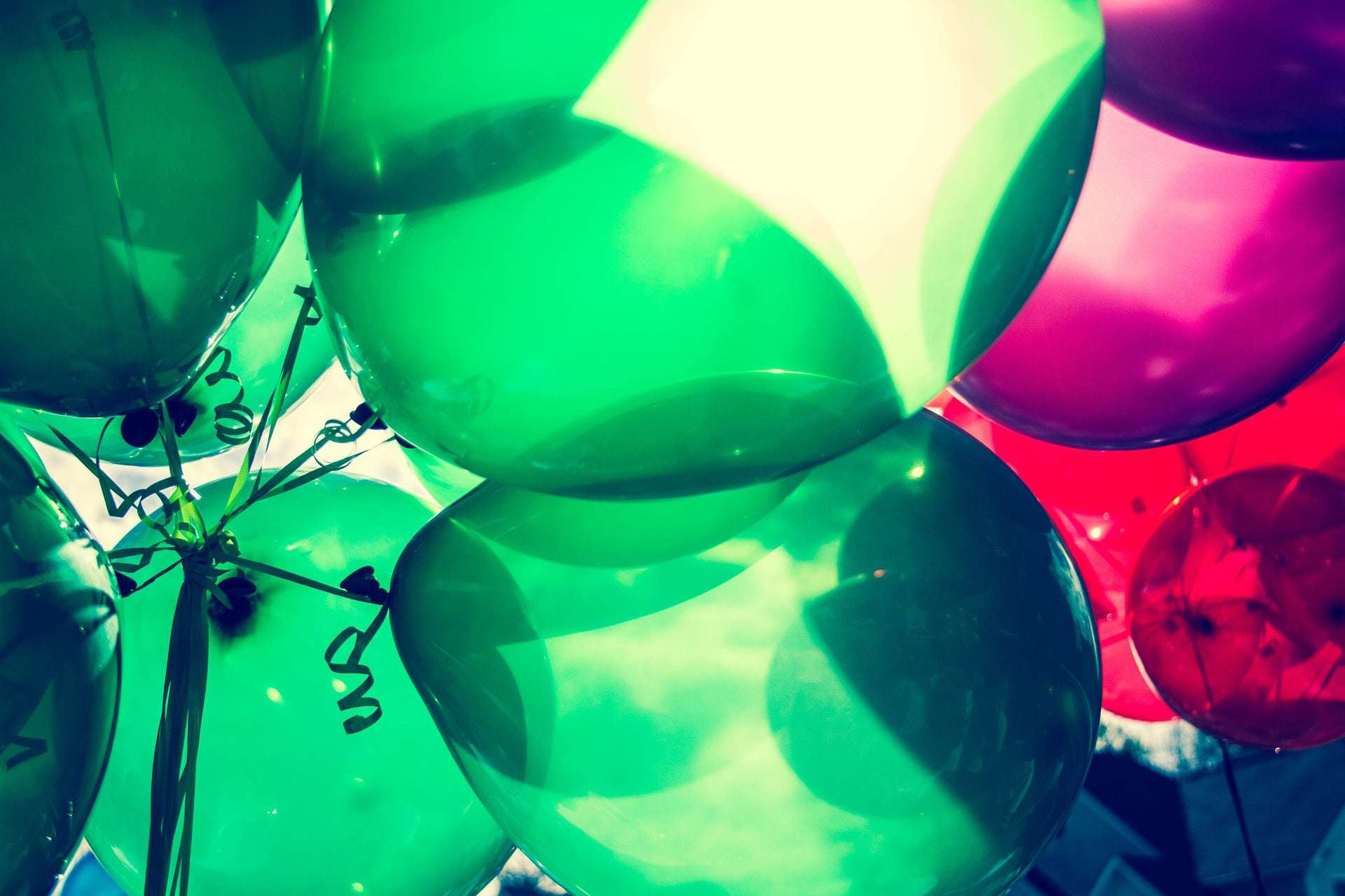 balloon avalanches are just one of the easiest surprise birthday party ideas