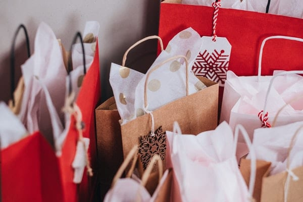 paper bags as gifts