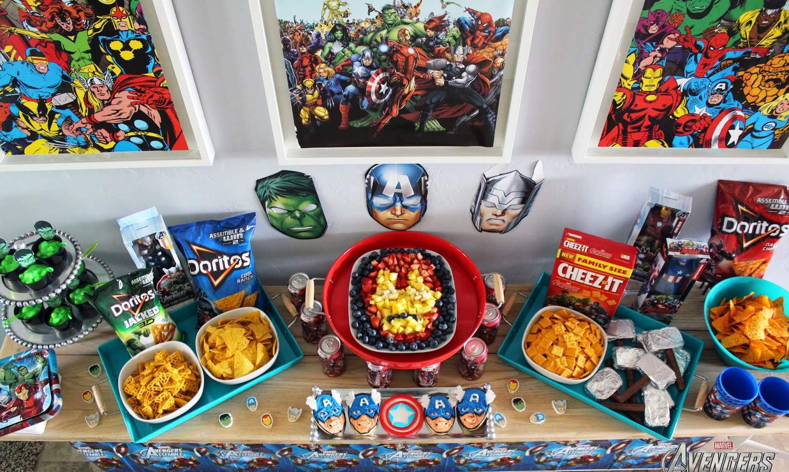 avengers party theme