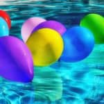 pool party ideas balloons-colorful-ballons-color-